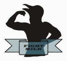 Fight Milk One Piece - Short Sleeve