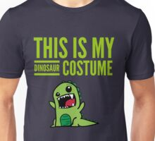 "Funny Halloween Costume ""This Is My Dinosaur ""  Unisex T-Shirt"