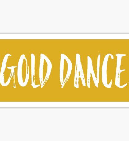 Gold Dance Sticker