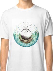 Blue-Green Otter Eye Classic T-Shirt