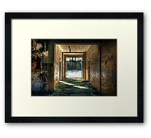 Colors of glory Framed Print