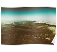 Aerial Photo Of Earth Horizon Poster