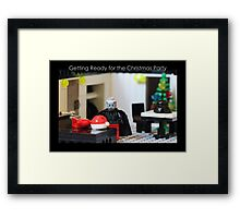 Getting Ready for the Christmas Party Framed Print