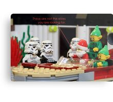 Not The Elves You Are Looking For Metal Print