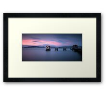 Mumbles pier and lifeboat station Framed Print