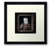 A Young Noble Framed Print