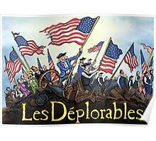 Les Deplorables Gifts For Donald Trump Supporters ! #donaldtrump #deplorables Poster