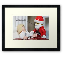 I Am Your Father Christmas Framed Print