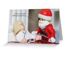 I Am Your Father Christmas Greeting Card