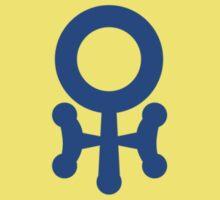 Uranus Symbol One Piece - Short Sleeve