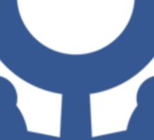Uranus Symbol Sticker