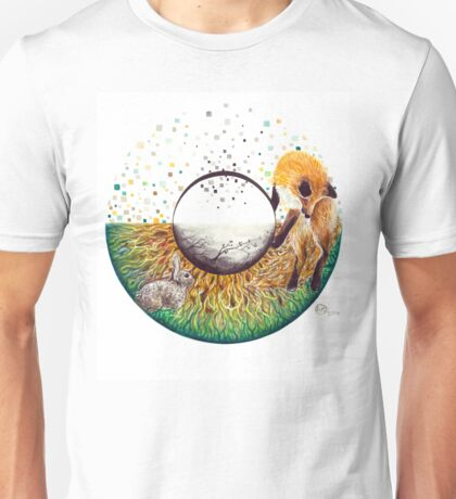 Hazel Fox & Rabbit Eye Unisex T-Shirt