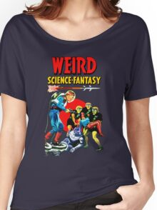 Weird Science Fantasy vintage Women's Relaxed Fit T-Shirt