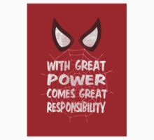 With great power... (Spider-Man Sticker) by LiRoVi