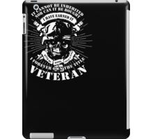 I Forever Own The Tittle Veteran T Shirt iPad Case/Skin