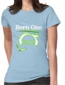 BERN ONE!! SMOKE 4 BERNIE - 2016! 410 BERNIE SANDERS Womens Fitted T-Shirt