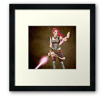 Steam Jedi Framed Print