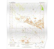 USGS TOPO Map Arizona AZ Childs Valley 314467 1965 62500 Poster