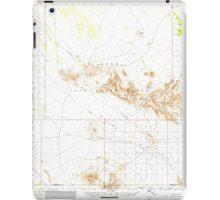 USGS TOPO Map Arizona AZ Childs Valley 314467 1965 62500 iPad Case/Skin
