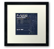 P-5000 Powerloader Framed Print