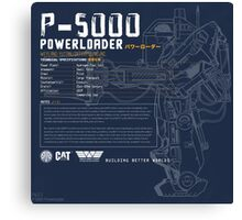 P-5000 Powerloader Canvas Print