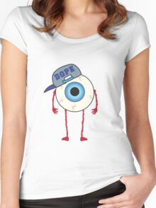 EYE'M DOPE Women's Fitted Scoop T-Shirt