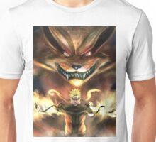 Naruto and Kyubi Unisex T-Shirt