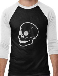 Dizzy Skull - Black Men's Baseball ¾ T-Shirt