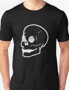 Dizzy Skull - Black Unisex T-Shirt