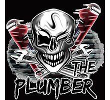 """Plumber Skull 2: """"The Plumber""""  Photographic Print"""