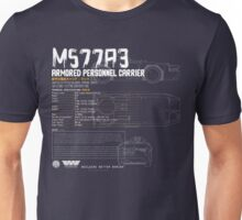 M577A3 Armored Personnel Carrier Unisex T-Shirt