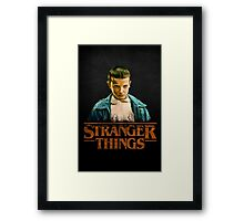 Stranger Things Eleven Framed Print