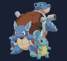 Squirtle Evol Kids Clothes