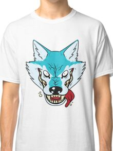 Who's Afraid Of The Big Blue Wolf Classic T-Shirt