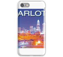 charlotte skyline iPhone Case/Skin