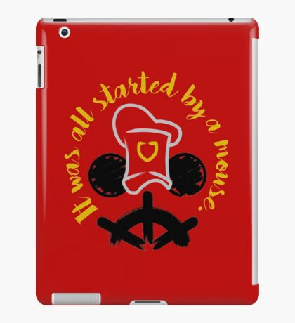 By A Mouse iPad Case/Skin