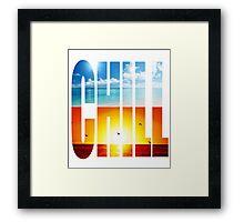 Chill Framed Print