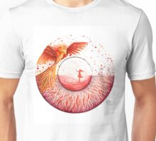 Red Phoenix Eye Unisex T-Shirt