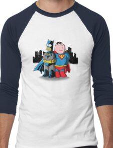 Bathomer VS Supergriffin Men's Baseball ¾ T-Shirt
