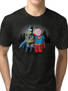 Bathomer VS Supergriffin Tri-blend T-Shirt