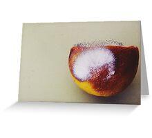 Micro life Greeting Card