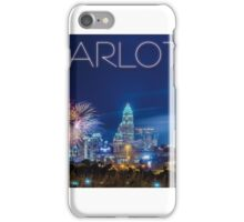 charlotte skyline iPhone Case/Skin