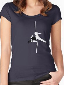 street acrobat Women's Fitted Scoop T-Shirt