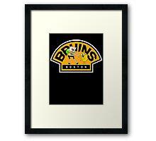 Adventure time Bruins Framed Print