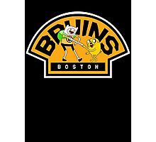 Adventure time Bruins Photographic Print