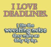 Deadlines Baby Tee