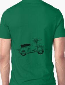 vespa black Unisex T-Shirt