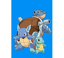 Squirtle Evol Photographic Print