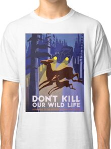 Vintage poster - Don't Kill Our Wildlife Classic T-Shirt