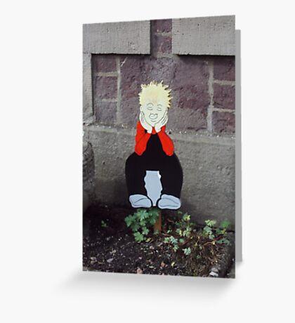 'Oor Wullie'  Greeting Card